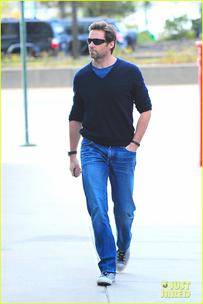 hugh jackman family time after cancer scare 01