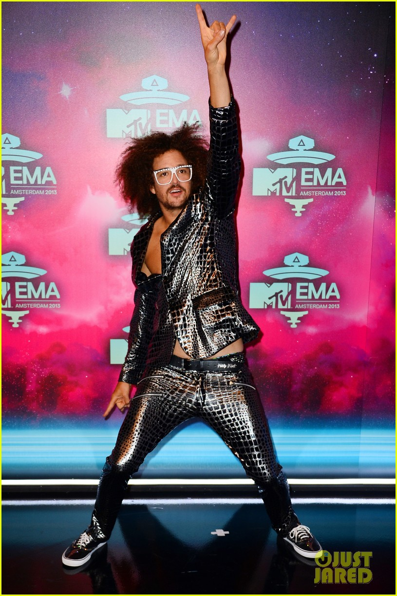 icona pop redfoo mtv emas 2013 red carpet 052989737