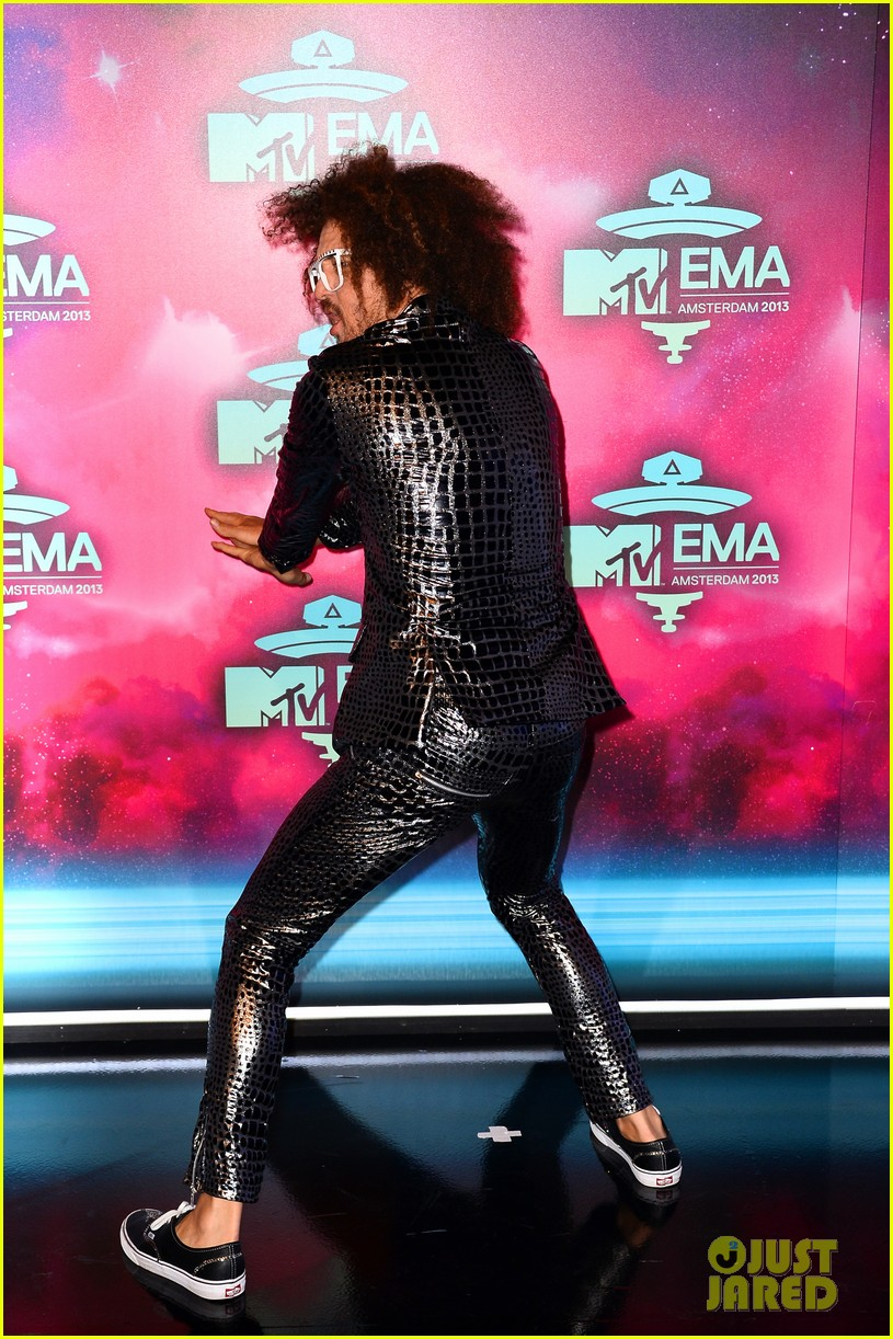 icona pop redfoo mtv emas 2013 red carpet 082989740