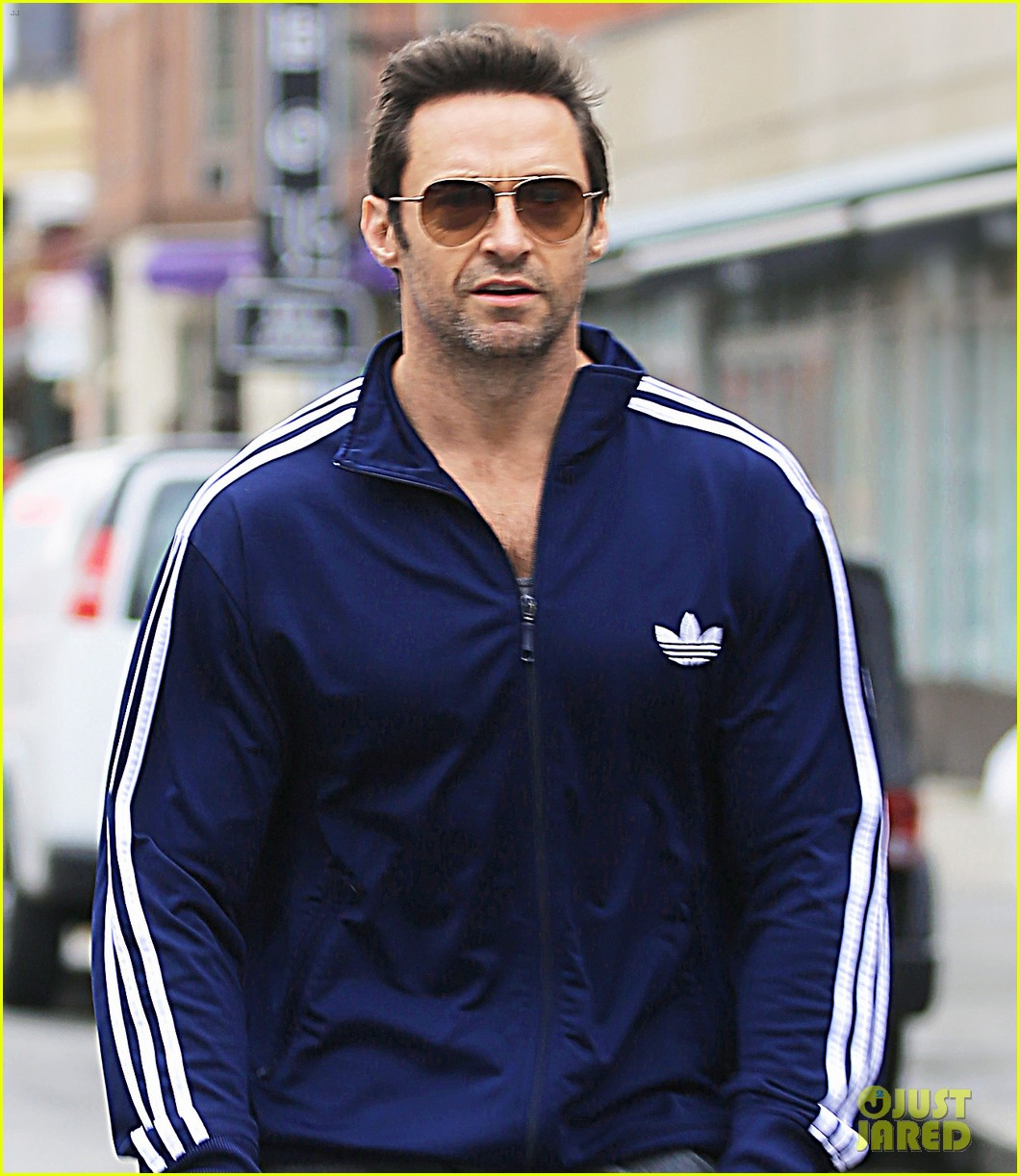 hugh jackman steps out with familly after wolverine news 092988365