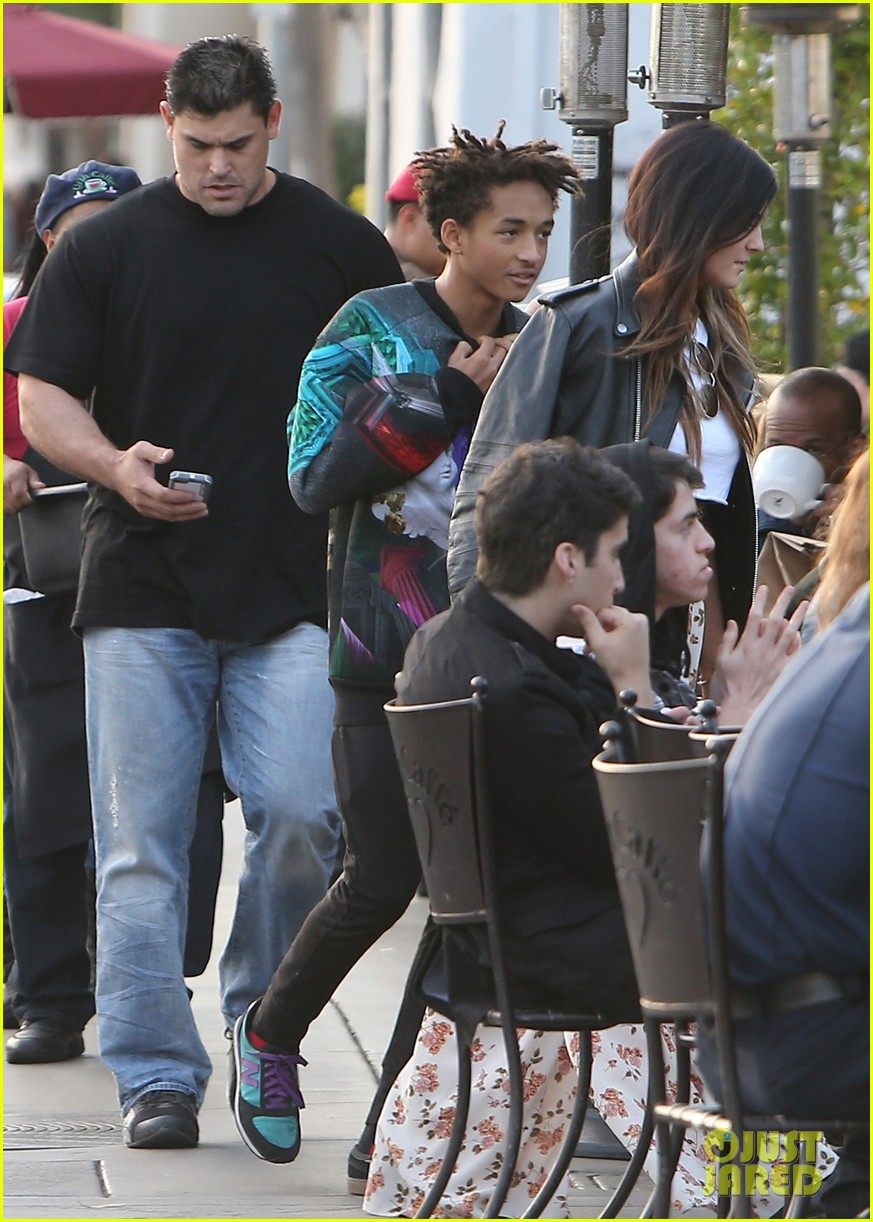 jaden smith kylie jenner shop dine with larger group 032996502