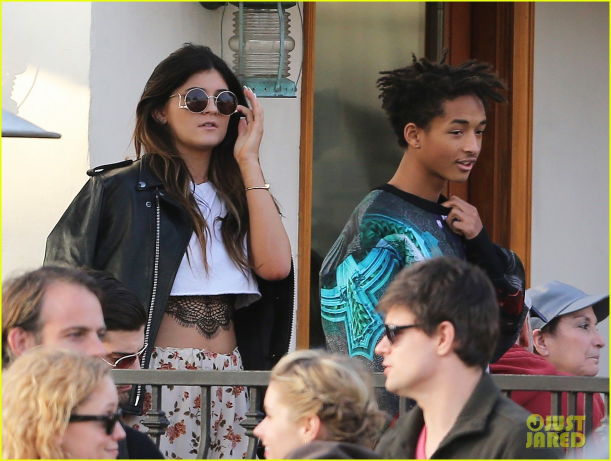 jaden smith kylie jenner shop dine with larger group 162996515
