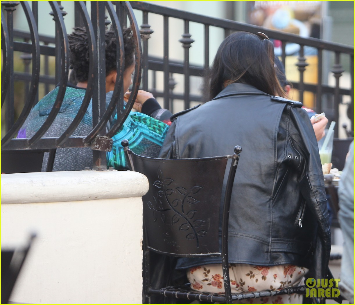 jaden smith kylie jenner shop dine with larger group 182996517