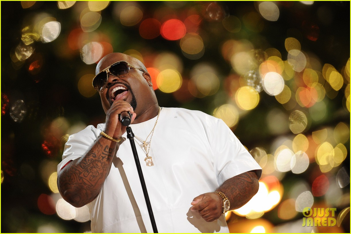 jewel cee lo green the groves tree lighting spectacular 2013 122995212