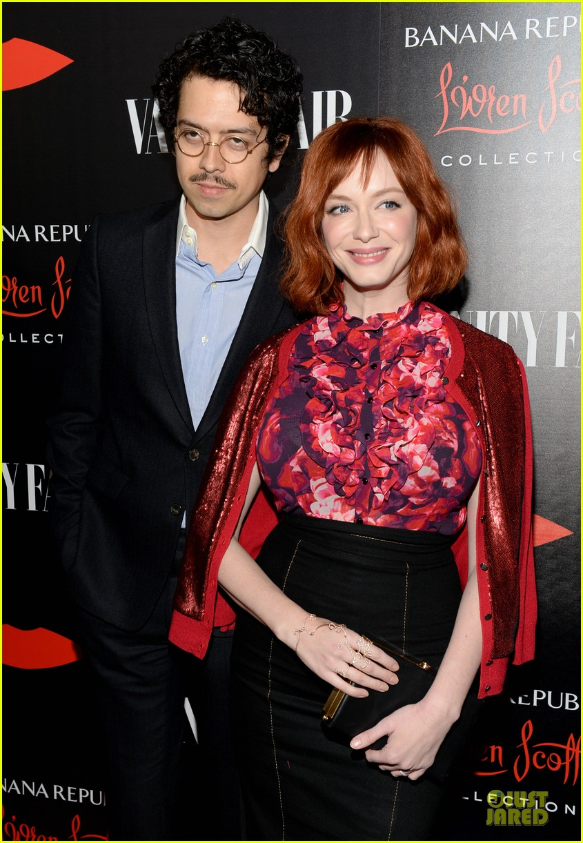 rashida jones christina hendricks banana republic lwren scott collection launch 022996364