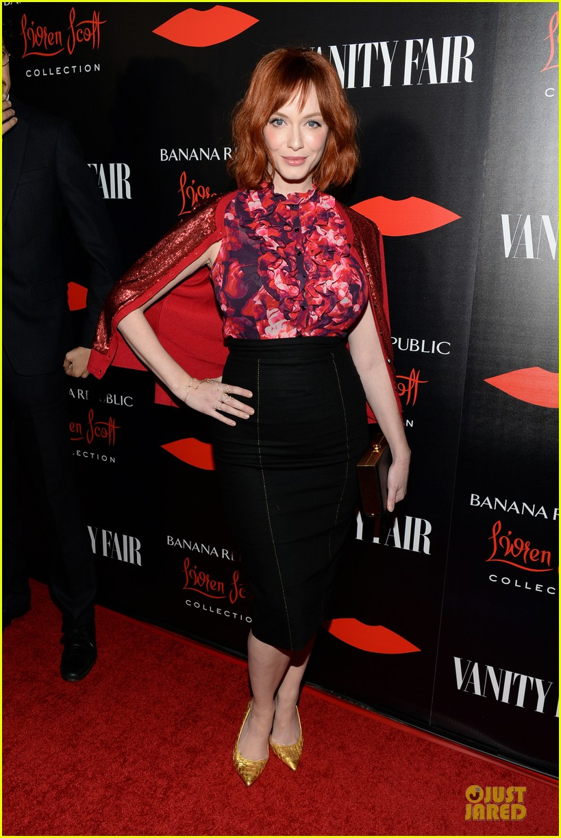rashida jones christina hendricks banana republic lwren scott collection launch 062996368