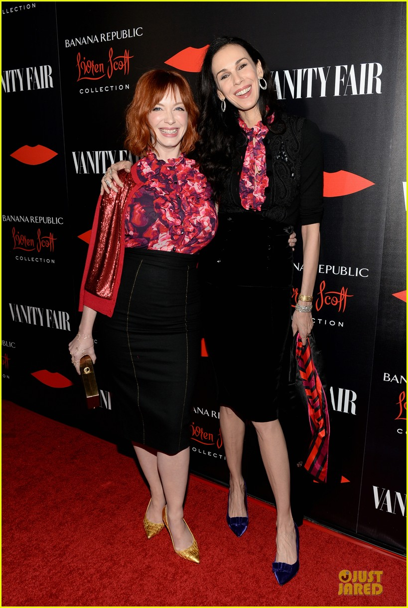 rashida jones christina hendricks banana republic lwren scott collection launch 132996375