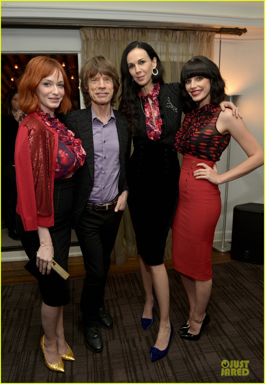 rashida jones christina hendricks banana republic lwren scott collection launch 20