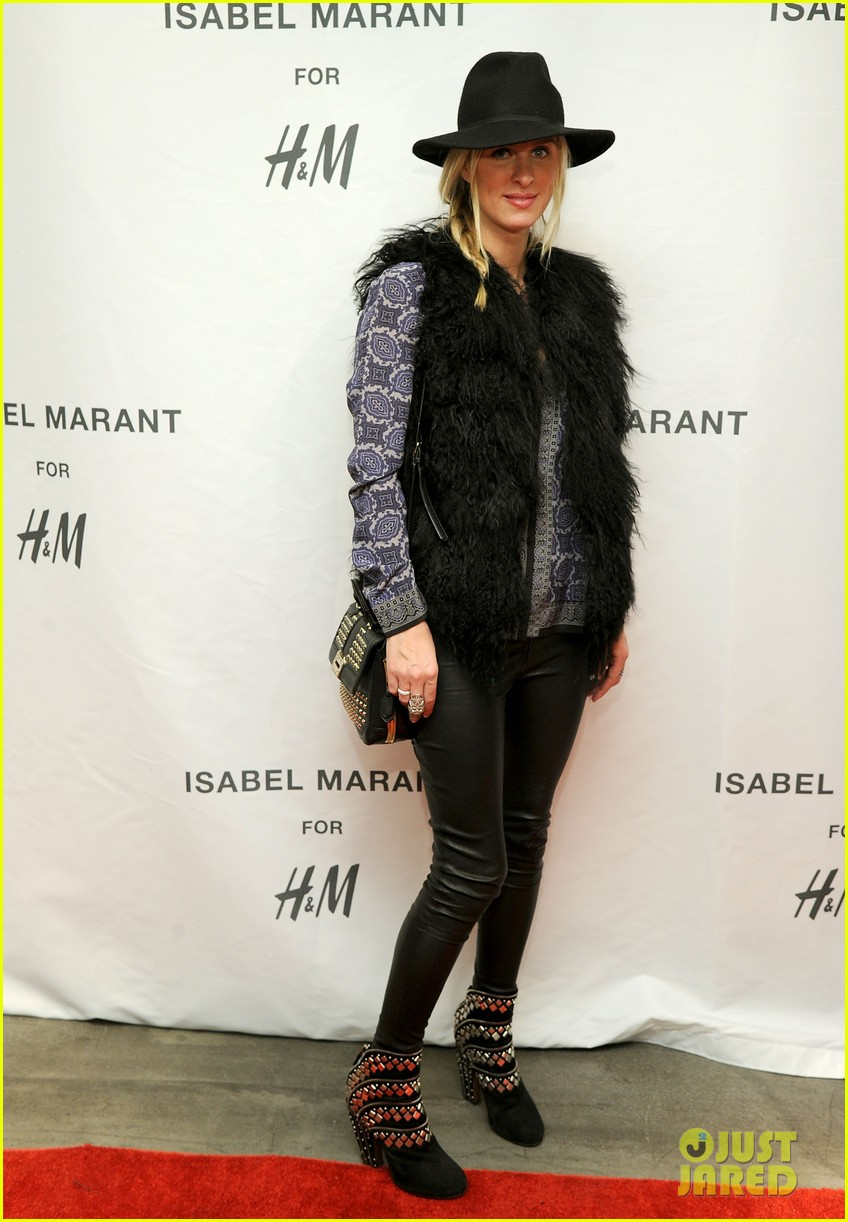 milla jovovich molly sims isabel marant for hm shoppers 032991257