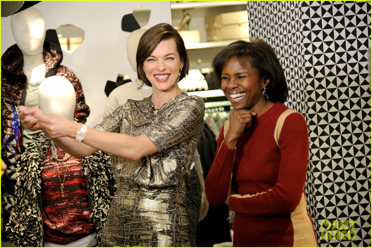 milla jovovich molly sims isabel marant for hm shoppers 142991268