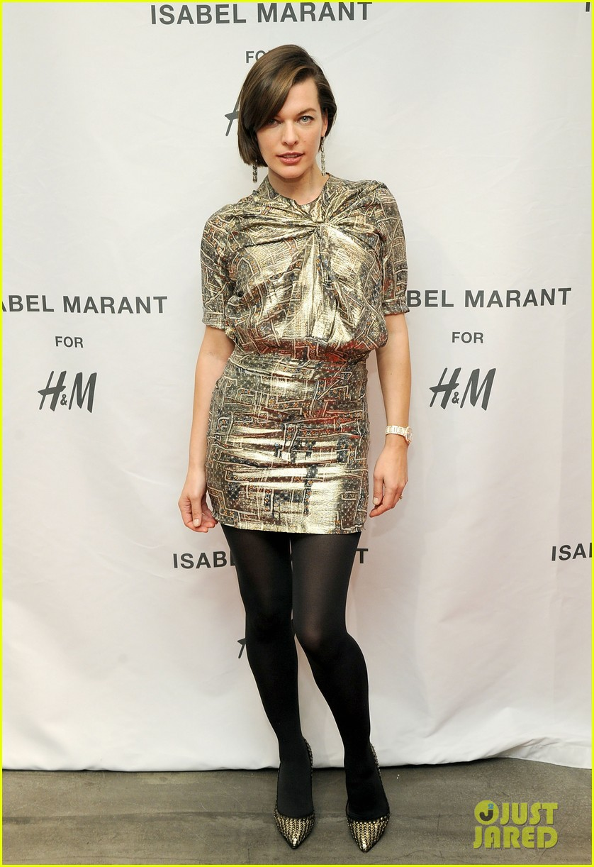 milla jovovich molly sims isabel marant for hm shoppers 172991271