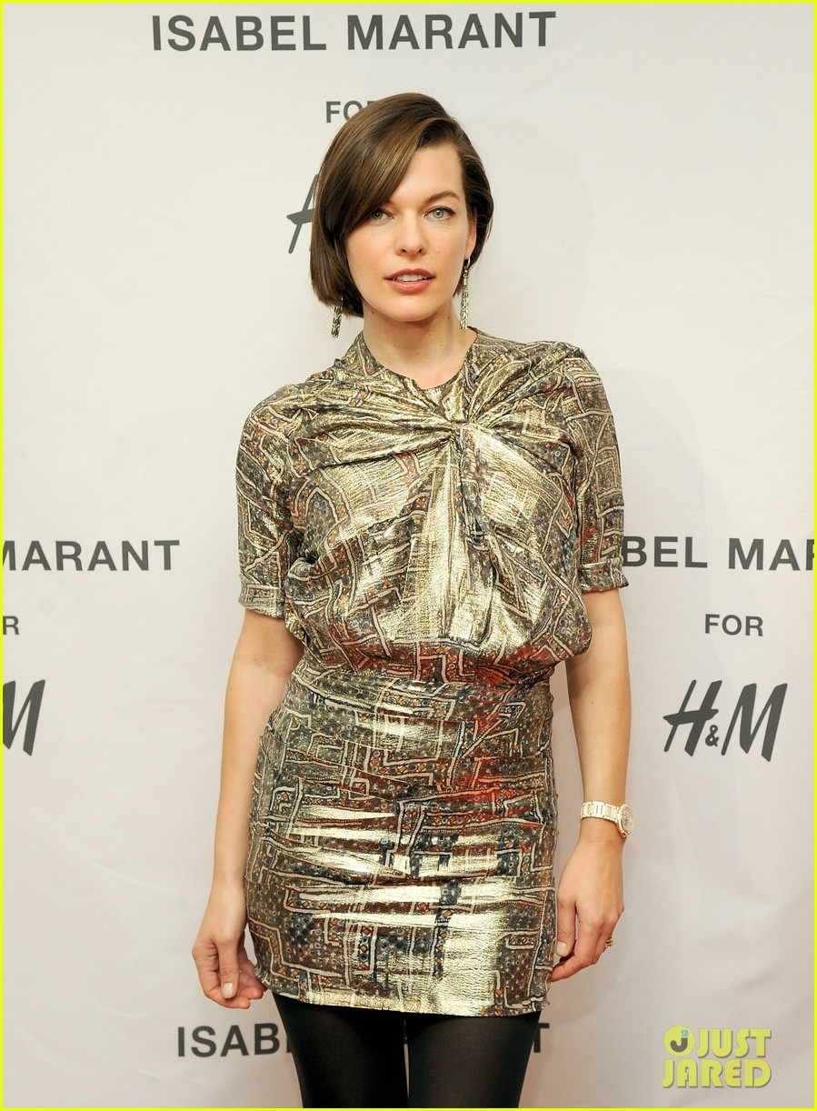 milla jovovich molly sims isabel marant for hm shoppers 202991274