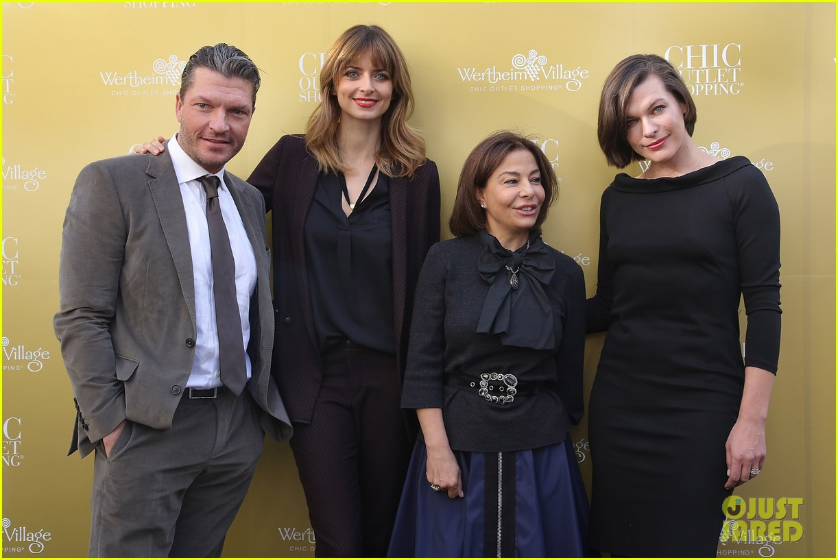 milla jovovich wertheim village 10th anniversary celebration 09