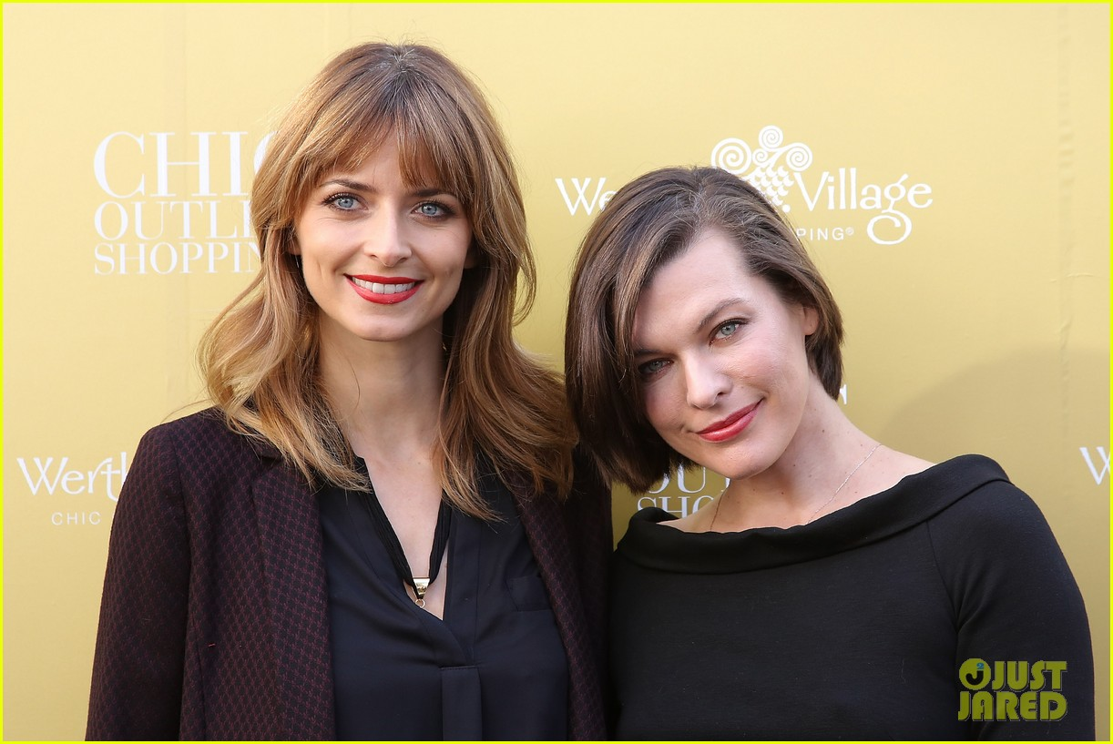 milla jovovich wertheim village 10th anniversary celebration 11