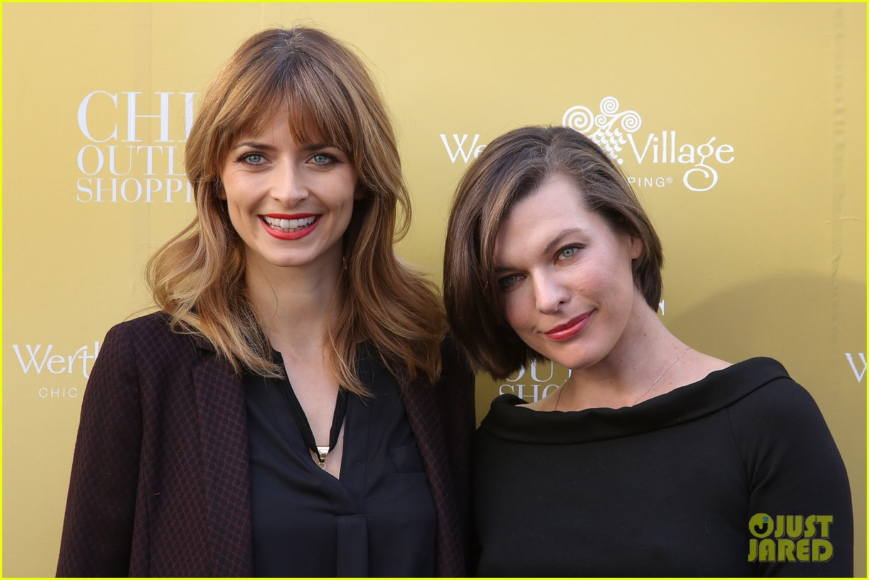 milla jovovich wertheim village 10th anniversary celebration 18