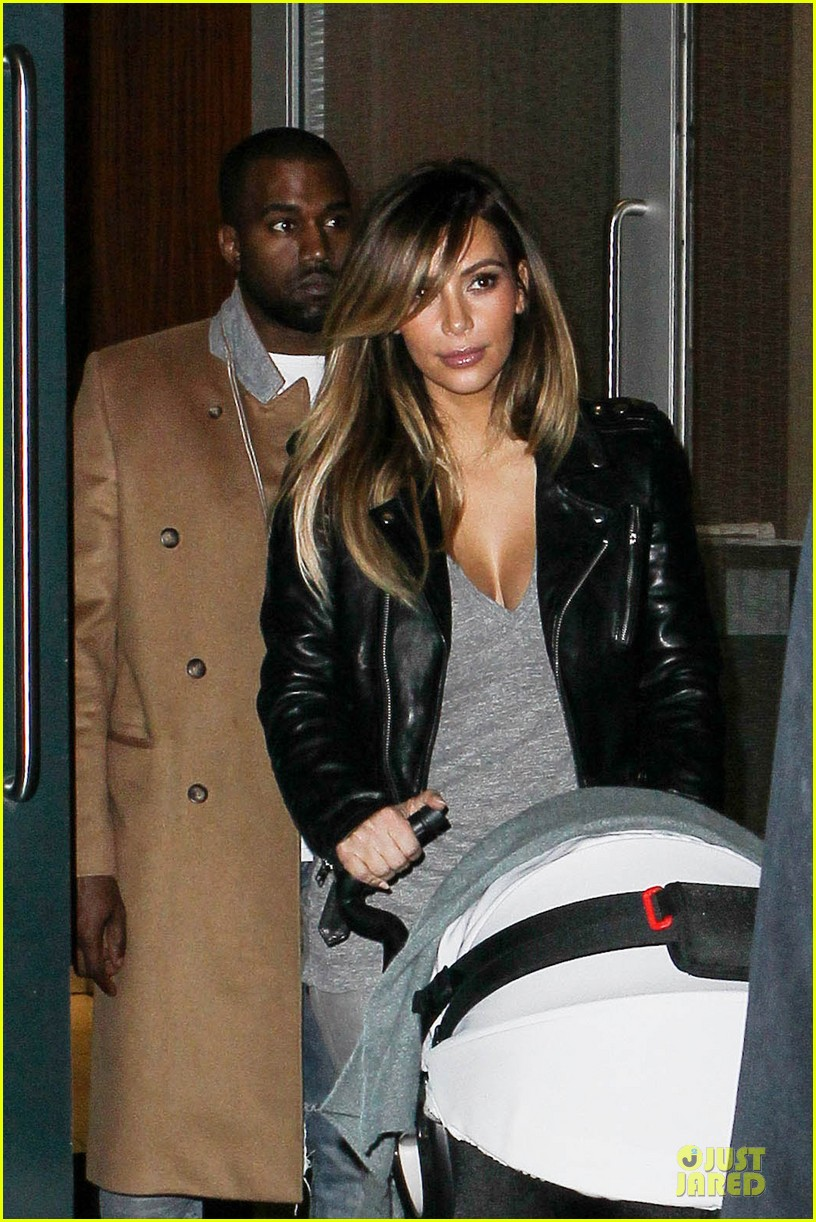 kim kardashian kanye west friday dinner date with north 022998255