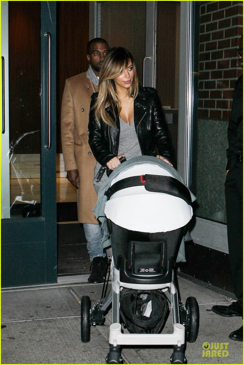 kim kardashian kanye west friday dinner date with north 172998270