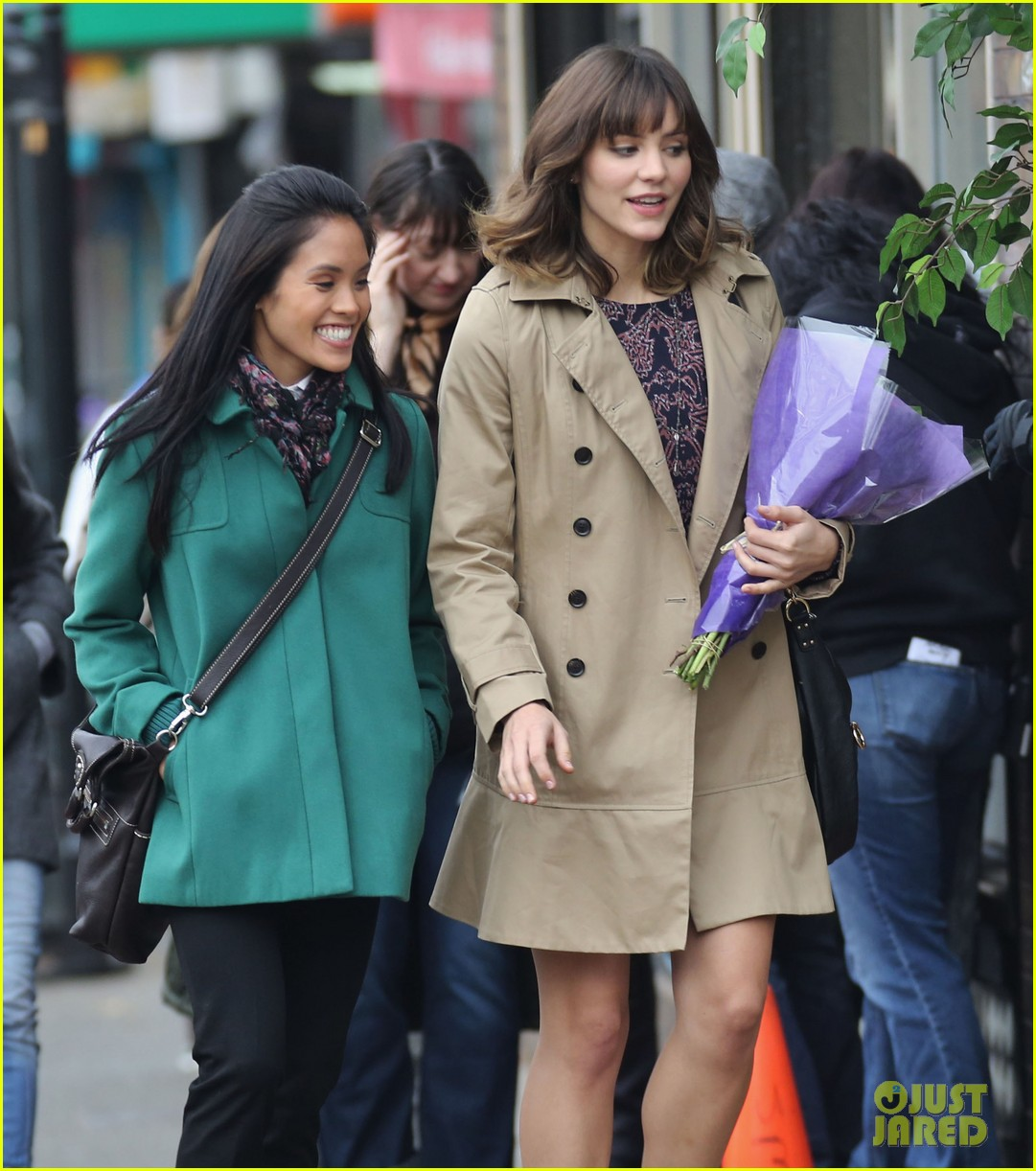 katharine mcphee gets to work on thanksgiving day 183002157