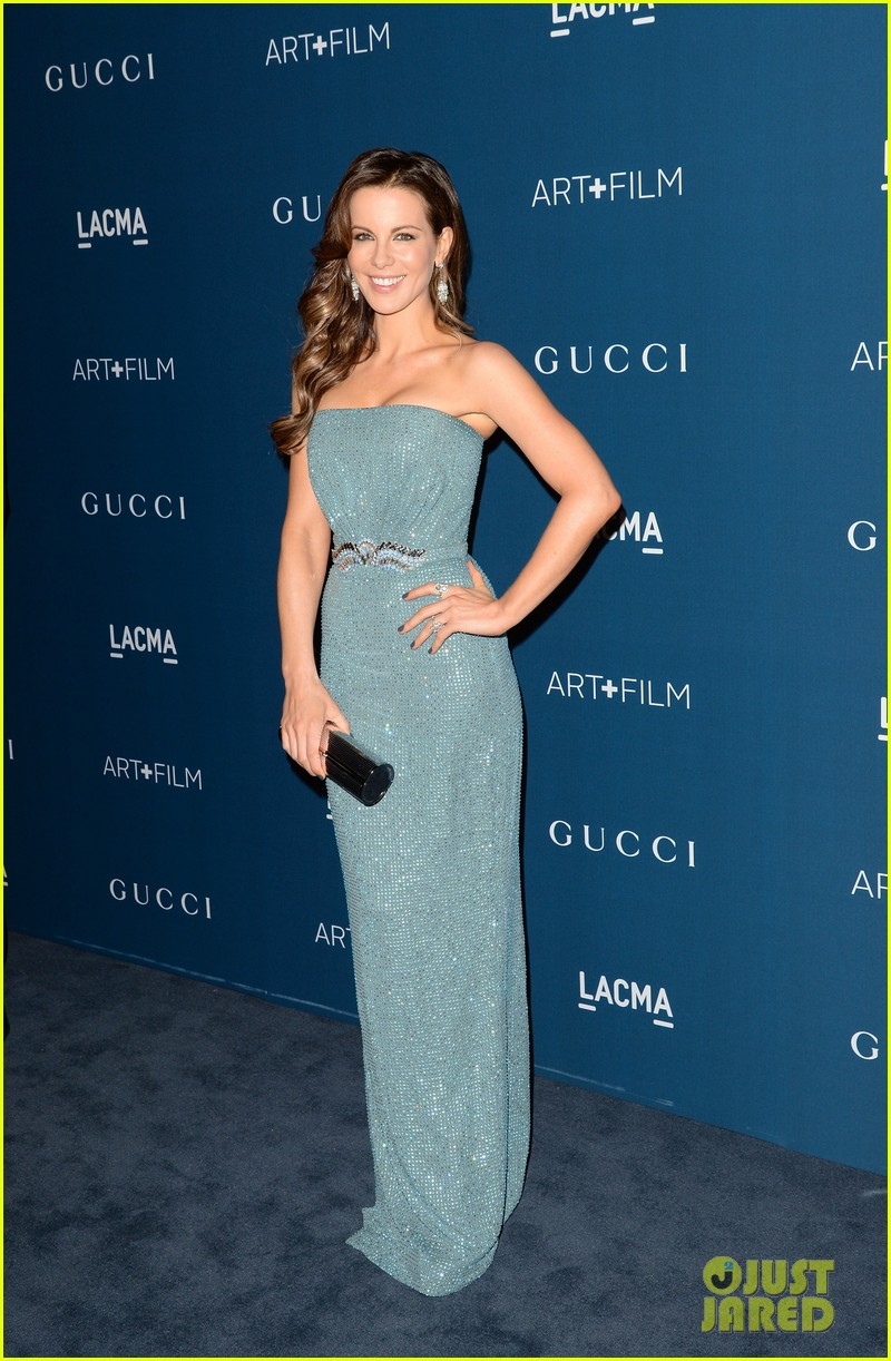 kate beckinsale len wiseman lacma art film gala 032985360