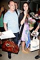 lana del rey receives flowers at lax airport 09