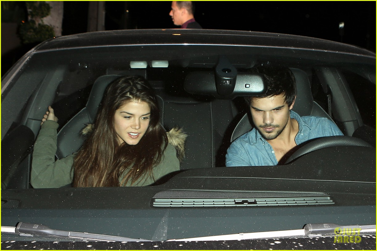 taylor lautner marie avgeropoulos lermitage dinner date 062998297