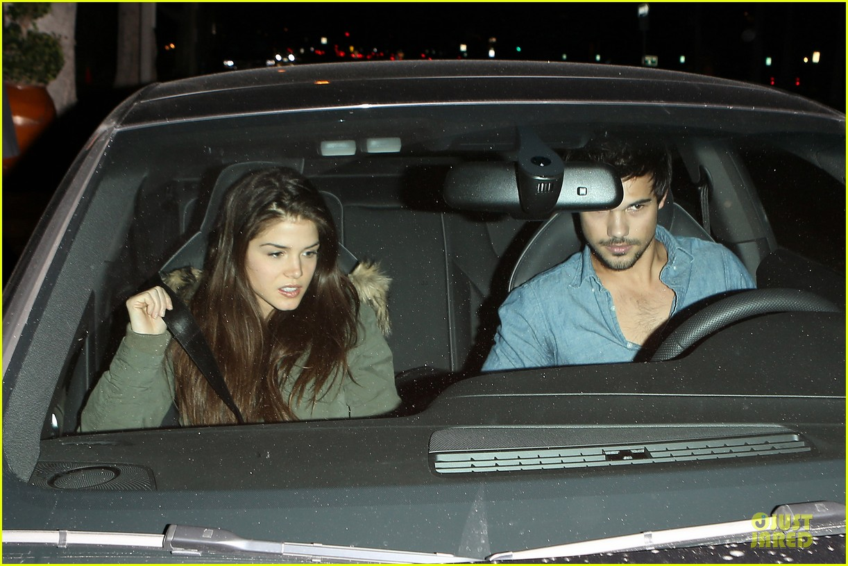 taylor lautner marie avgeropoulos lermitage dinner date 072998298