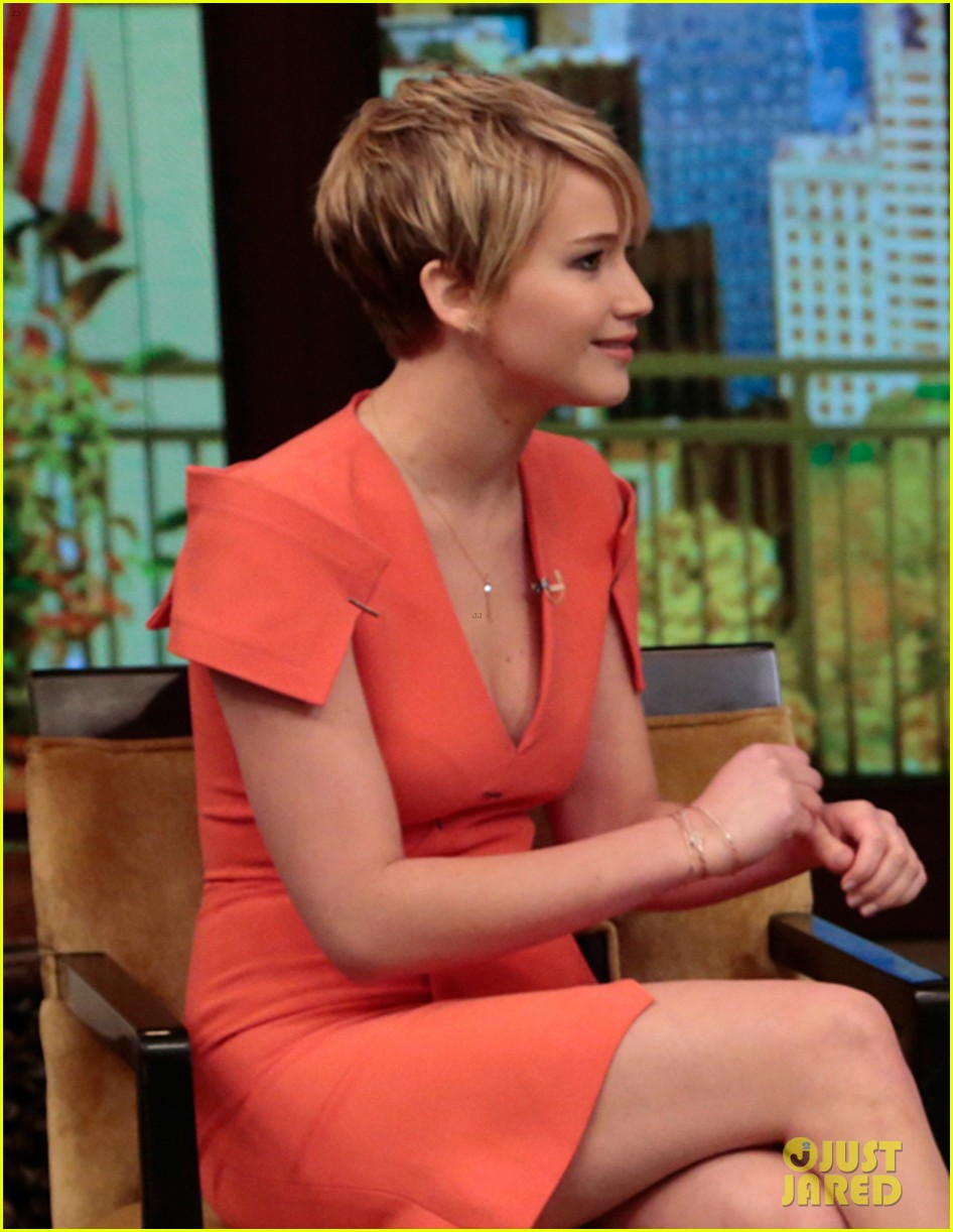 jennifer lawrence live with kelly michael 012997510