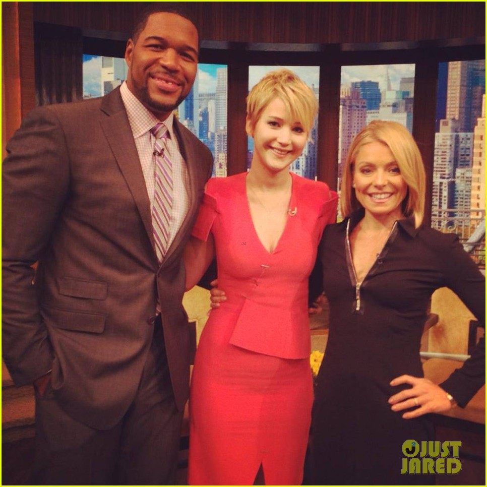 jennifer lawrence live with kelly michael 022997511