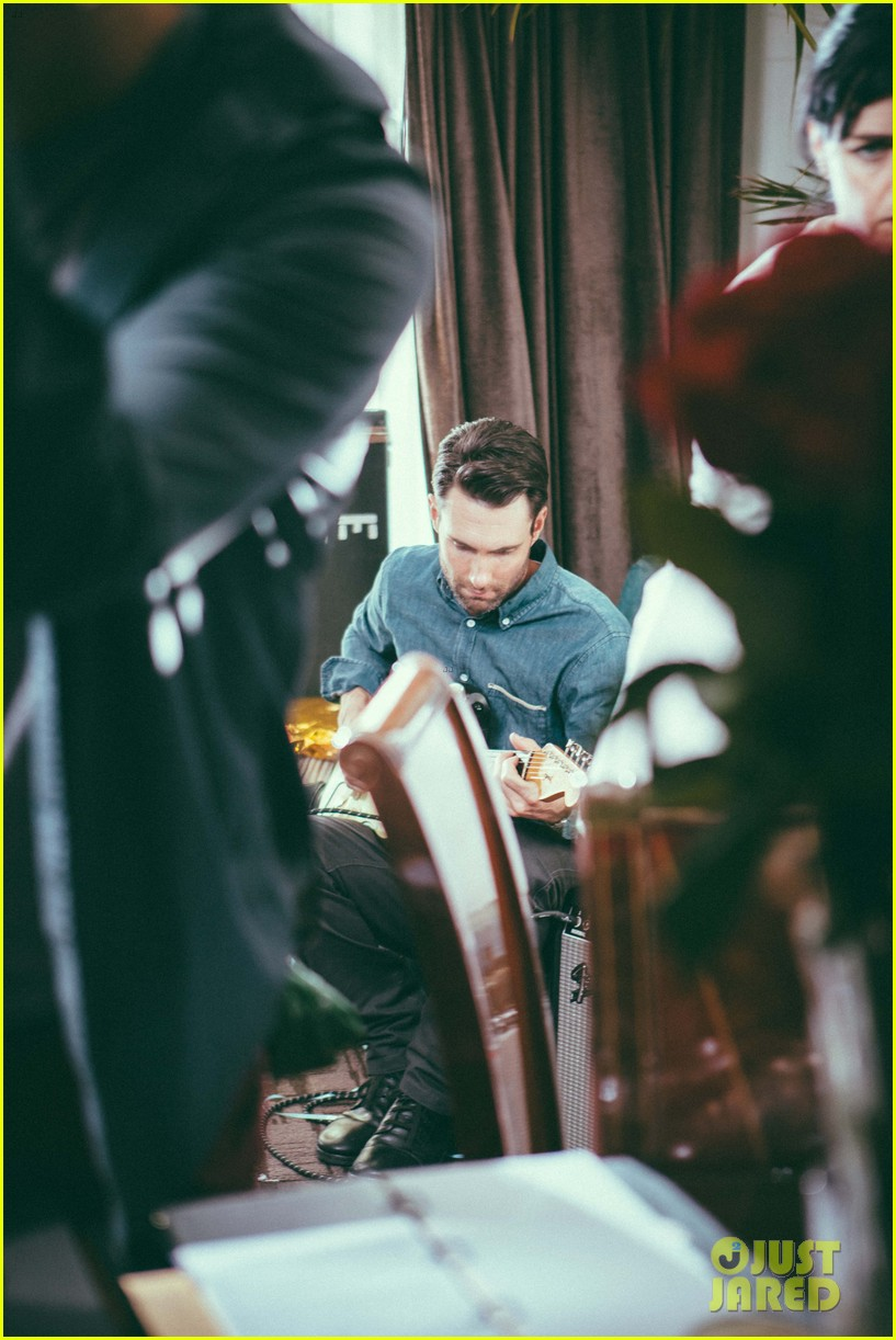 adam levine kmart commercial behind the scenes 04