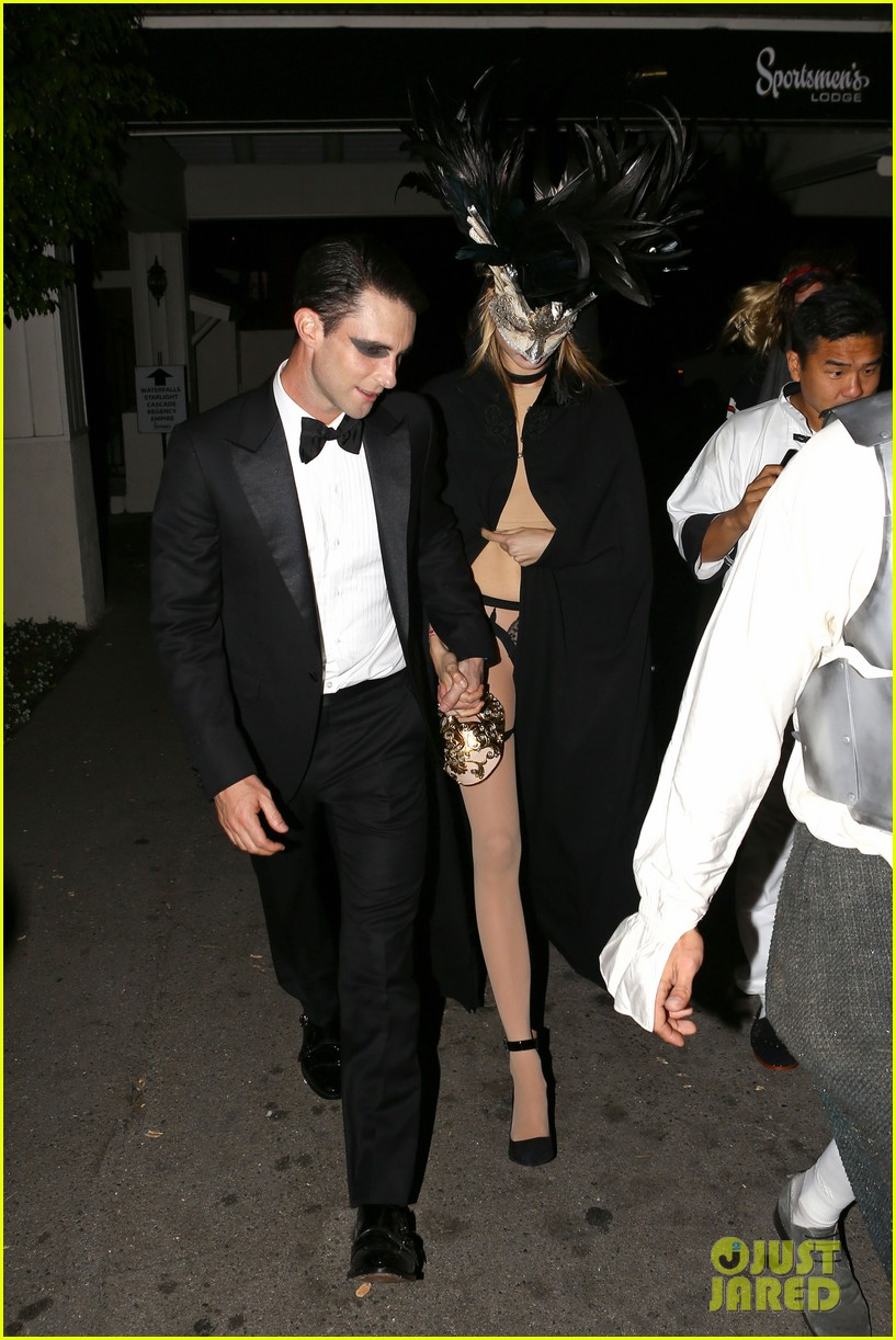 adam levine behati hold hands after hosting halloween party 112984198