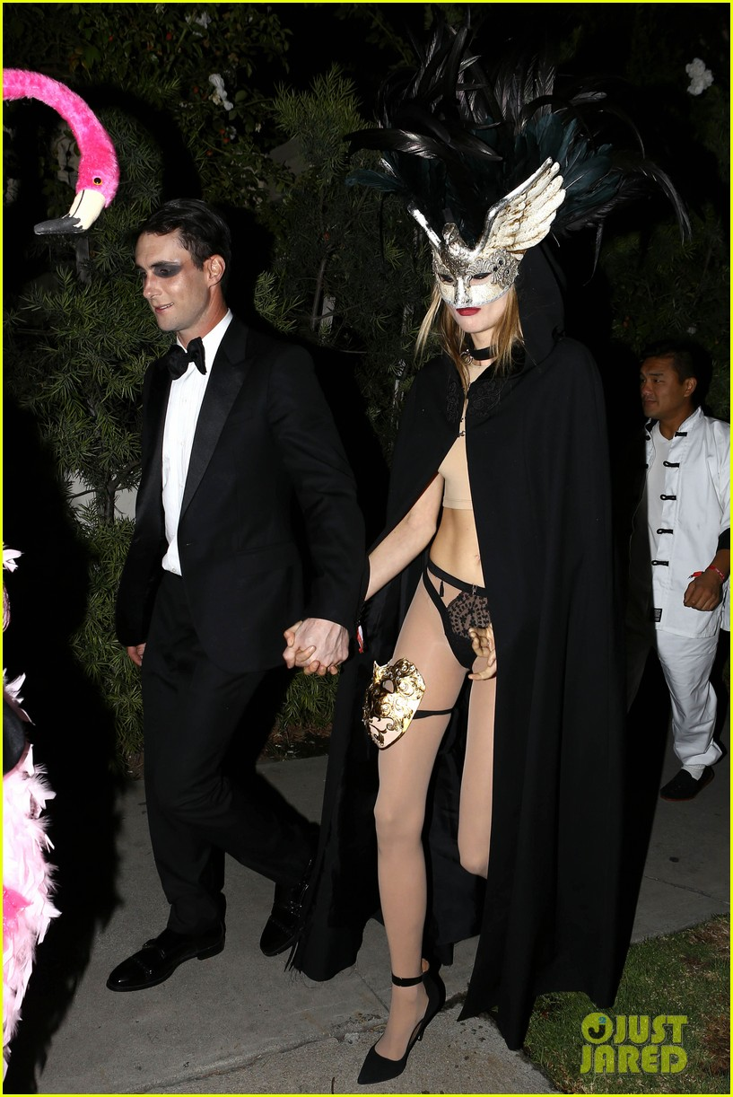 adam levine behati hold hands after hosting halloween party 162984203