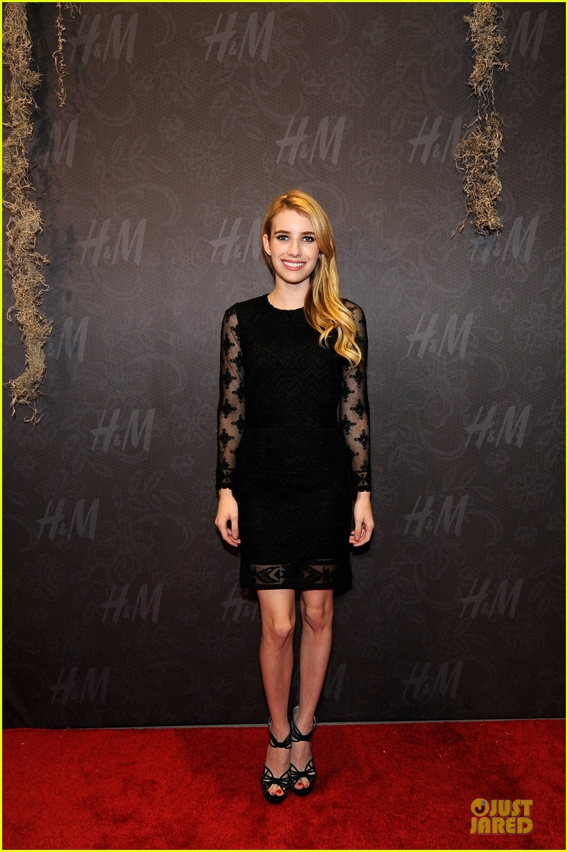 blake lively emma roberts hm new orleans store opening 052994375