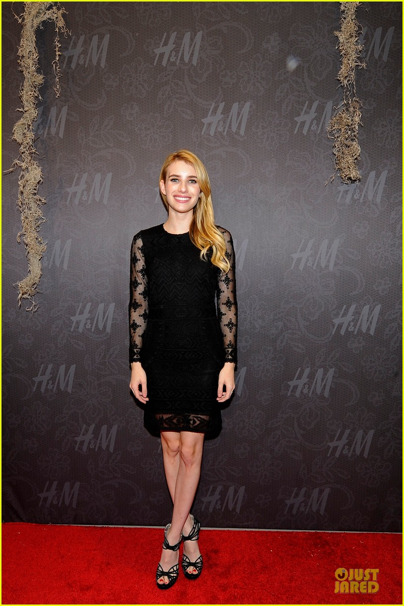 blake lively emma roberts hm new orleans store opening 102994380