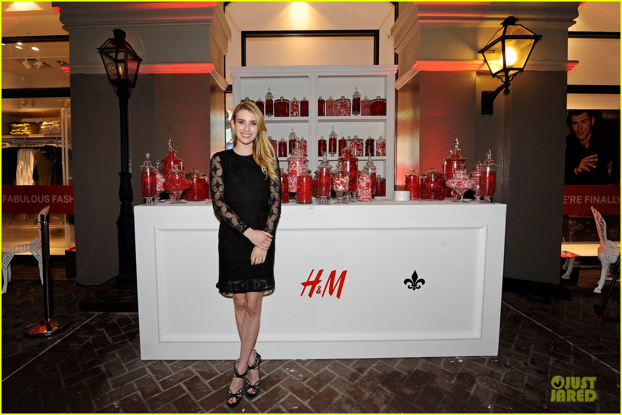 blake lively emma roberts hm new orleans store opening 112994381