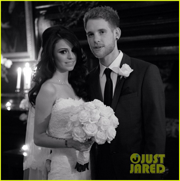 cher lloyd secretly marries craig monk wedding photo2996606
