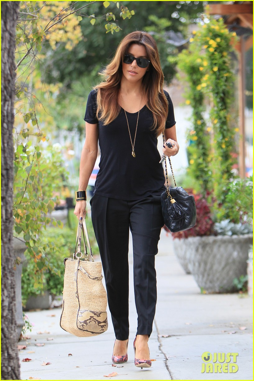 eva longoria steps out with new boyfriend jose antonio baston 062995489