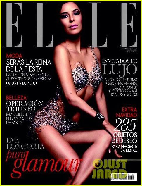 eva longoria covers spanish elle attends event in vegas 042997580