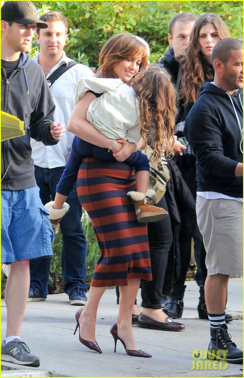 Jennifer Lopez Surprised By Her Kids On Boy Next Door