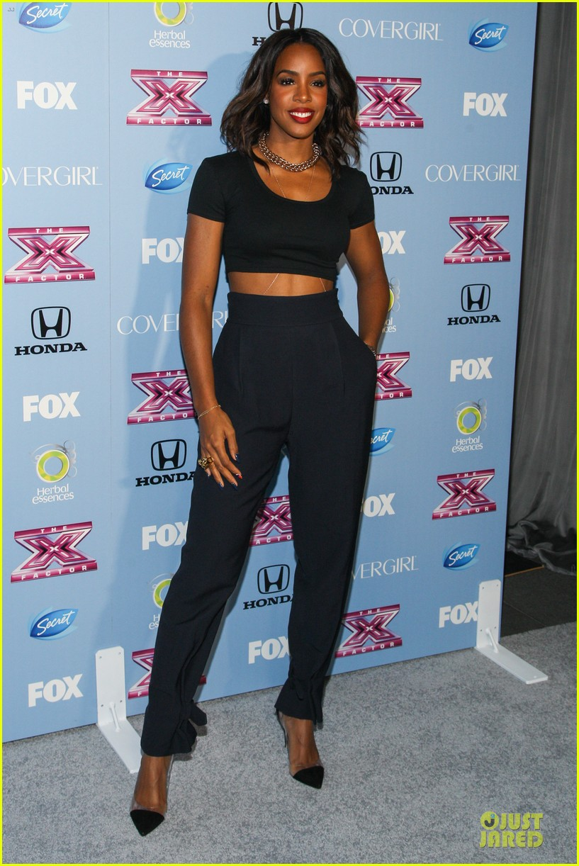demi lovato kelly rowland x factor finalists party 032986363