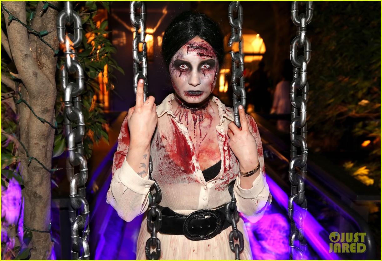 demi lovato dead zombie halloween costume 2013 232984132