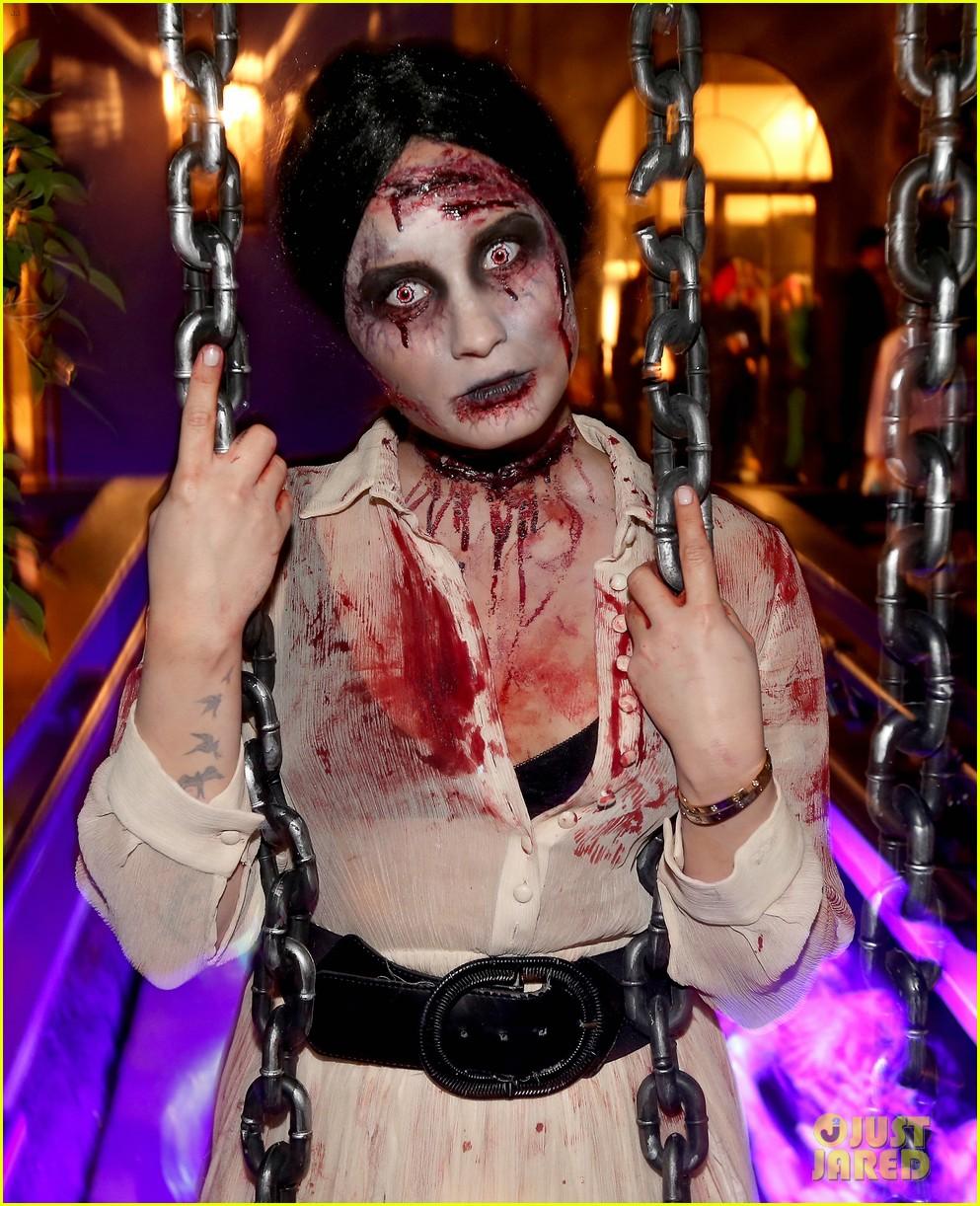demi lovato dead zombie halloween costume 2013 252984134