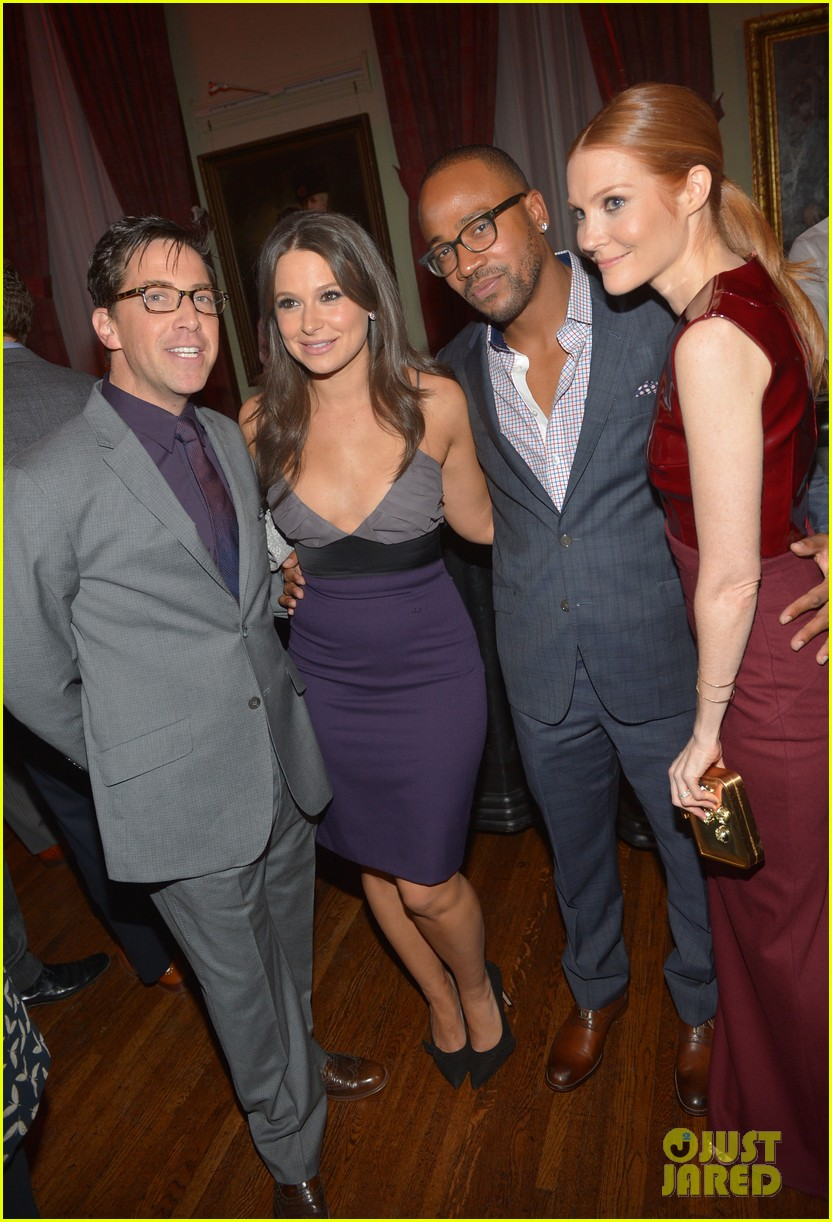 katie lowes darby stanchfield gq men of the year party 022991473