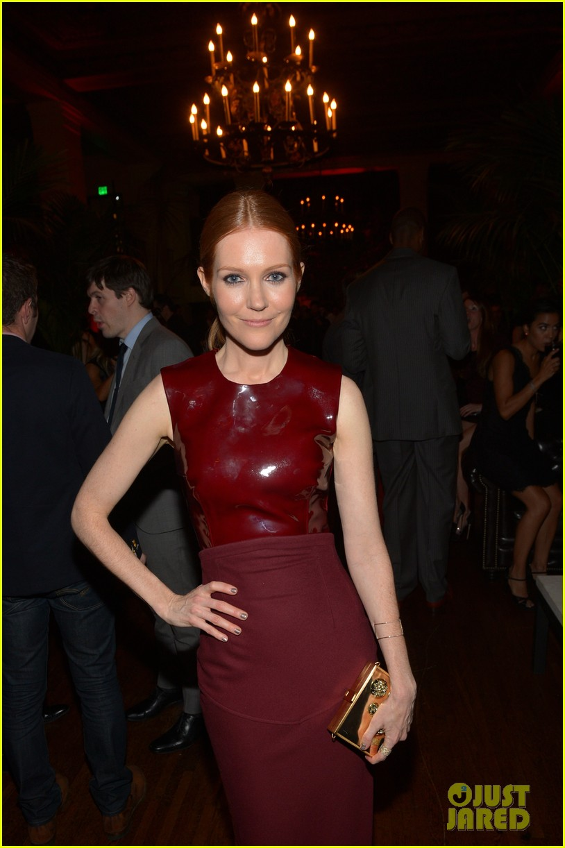 katie lowes darby stanchfield gq men of the year party 08