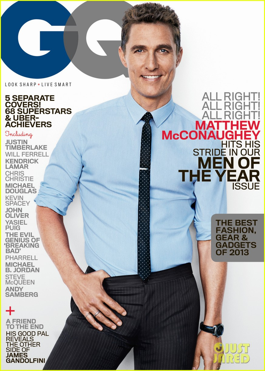 matthew mcconaughey others get gq men of the year covers 032990576