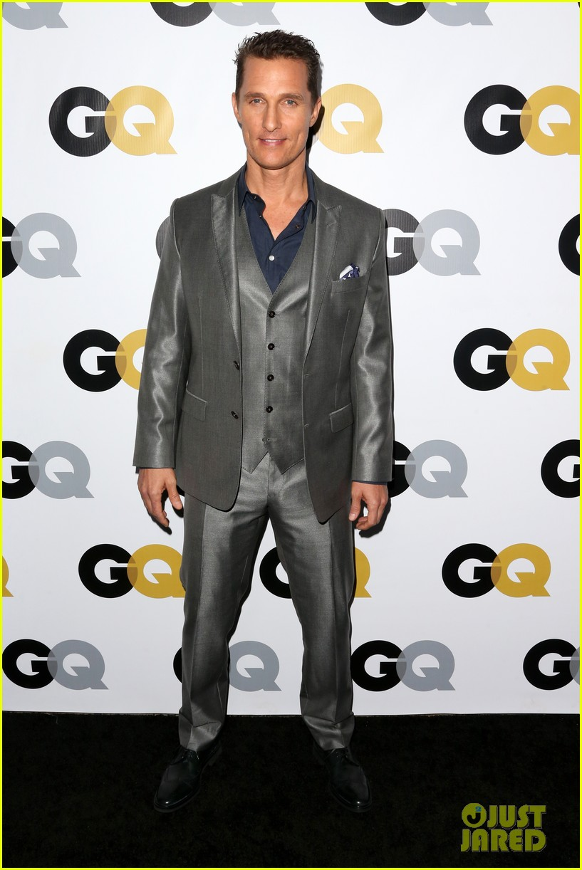 matthew mcconaughey gq men of the year party 012991315