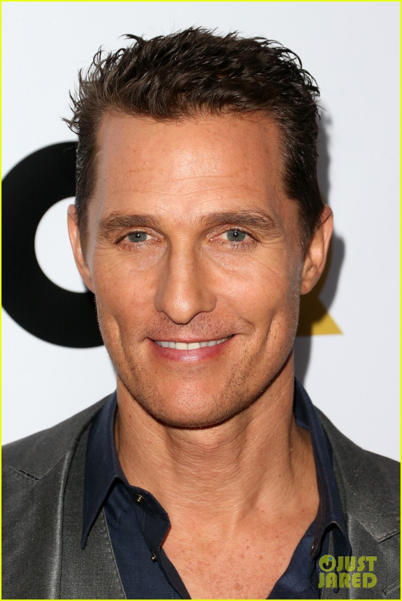 matthew mcconaughey gq men of the year party 022991316