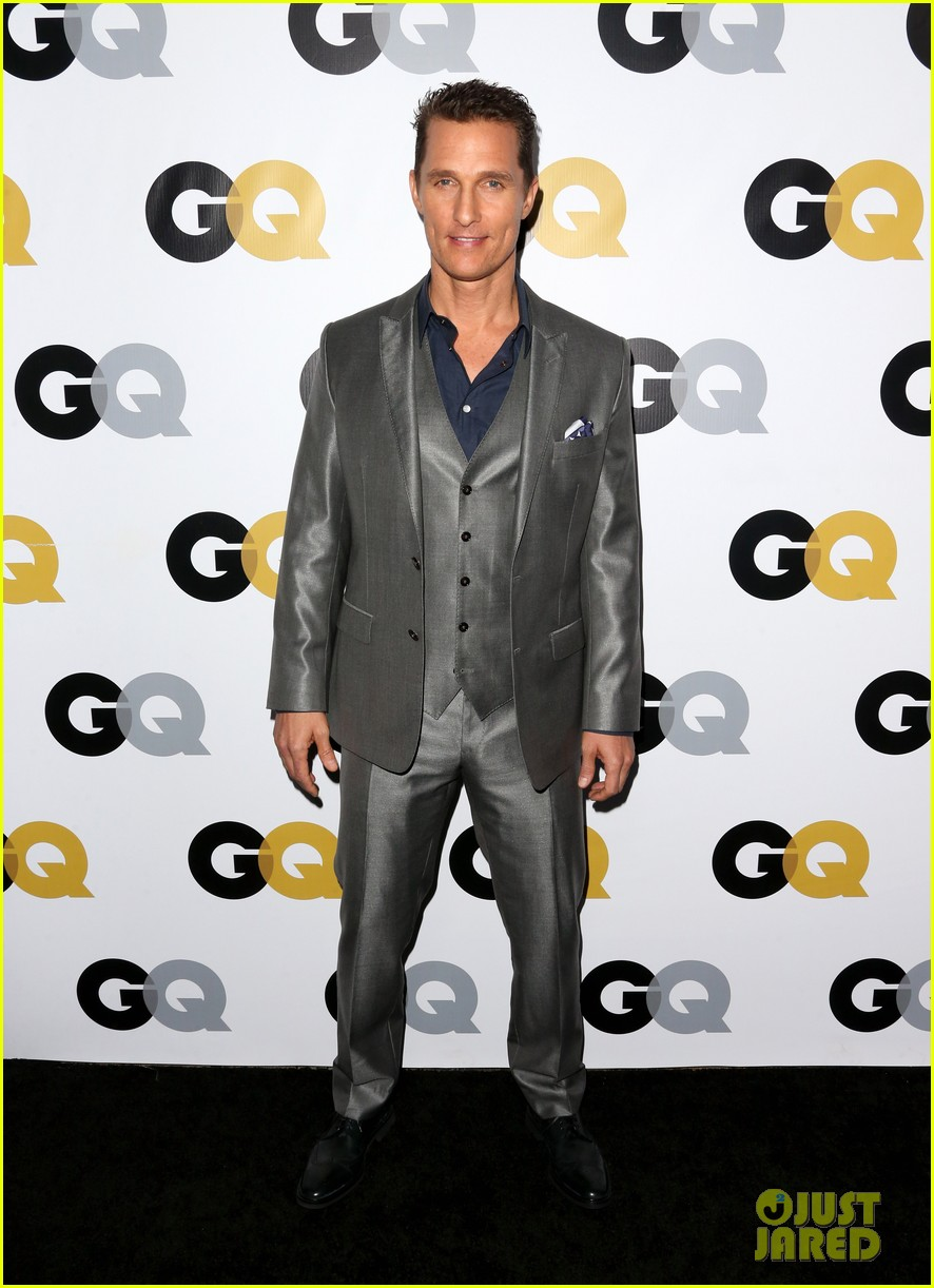 matthew mcconaughey gq men of the year party 082991322