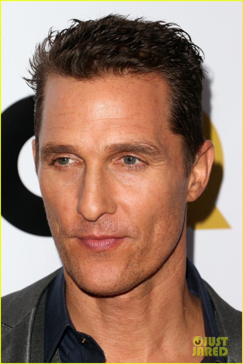 matthew mcconaughey gq men of the year party 172991331
