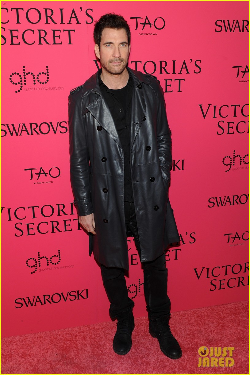 dylan mcdermott jamie chung victorias secret fashion show after party 2013 092992580