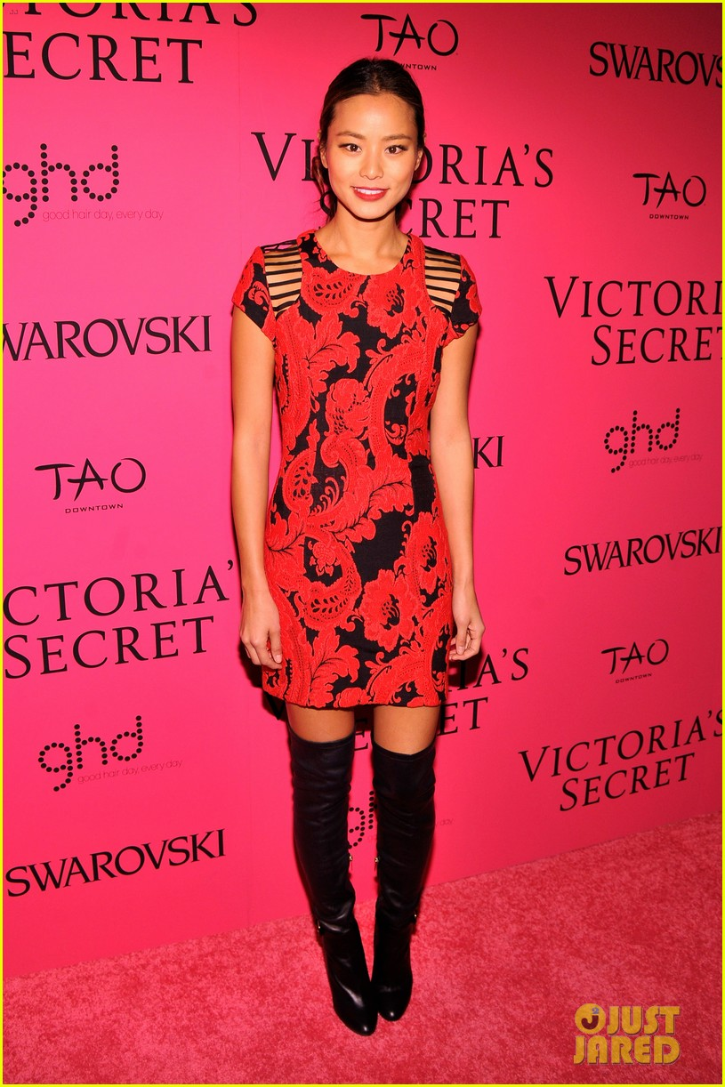 dylan mcdermott jamie chung victorias secret fashion show after party 2013 122992583